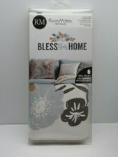 Bless this Home Floral Wall Decals Stickers Modern Style Decor Removable NEW