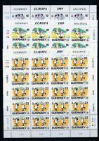 Guernsey Kleinbogensatz MiNr. 449-51 postfrisch MNH Cept 1989 (CB731