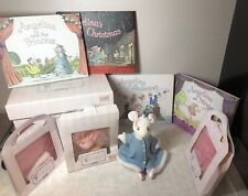 """11"""" American Girl Angelina Ballerina Set Little Mouse 4 Books & Outfits W/ Box L"""