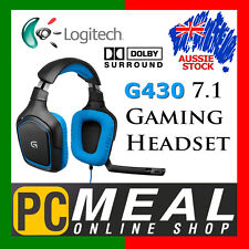Logitech G430 7.1 Surround Sound Gaming Headset Dolby Noise-Cancelling Mic USB