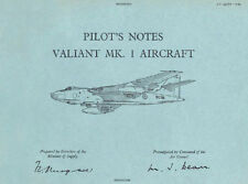 PILOT'S NOTES: VICKERS VALIANT 1960s FIRST BRITISH V- BOMBER 190 pages