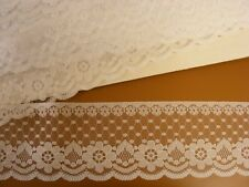 Flat Lace  White 65mm wide  5 mts (204)