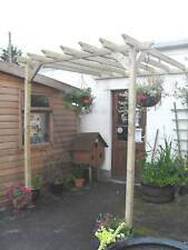 Beautiful Lean to Pergola Pressure Treated Soft Wood