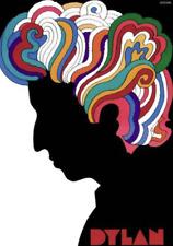 Vintage 60's Bob Dylan Pop Art poster Milton Glaser Psychedelic Silhouette