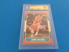 Randy Wittman 1986 Fleer #127 BGS 9.5 Gem Mint