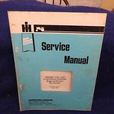 IH International Harvester Engine Fuel Electrical Briggs/Stratton Service Manual