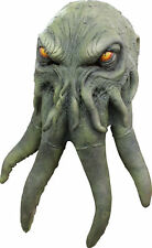 Cthulhu Octopus Lovecraft Monster of R'Lyeh Deluxe Adult Latex Mask Dragon Man