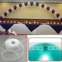 5m DIY Balloon Arch Decor Strip Connect Chain Plastic Tape for Party Wedding