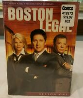 Boston Legal - Season 1 (DVD, 5-Disc Set) James Spader, William Shatner *New*