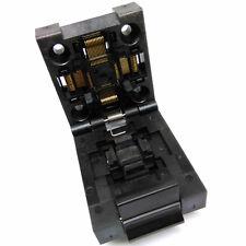QFP48 TQFP48 LQFP48 Clamshell Pitch 0.5mm Test Burn in Socket FPQ-48-0.5-06