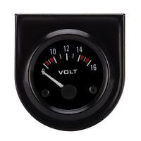 Voltmètre Ampèremètre voiture Auto LED numéros pointeur Volt ampère mètres jauge