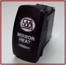 AUXILIARY  MIRROR HEAT SWITCH by CARLING RV,  FORD,  4 PIN,  LED ILLUMINATED