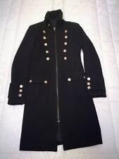 Cappotto wollmantel transitorio Cappotto Grigio Viola 40 cappotto da donna autunno inverno