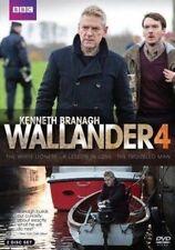 Wallander Season 4 Series Four Fourth Kenneth Branagh DVD