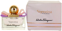 Signorina by Salvatore ferragamo For Women EDT Perfume Spray 1oz Damaged box New