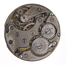 Rolex rebberg legale 15 gioiello FIRMATO 11.4 Ligne Orologio Movimento Ricambi Riparazione L322