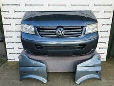 VW T5 TRANSPORTER CARAVELLE 2004-2009 Paraurti Anteriore front end Offroad Grigio LD7U