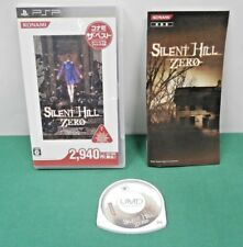 PlayStation Portable - Silent Hill Zero Konami the Best - PSP. JAPAN GAME. 55160