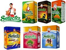 Selecta Yerba Mate Tea 500g - 6 flavours - Produced in Paraguay