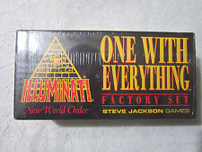 ** FACTORY SET - SEALED ** Illuminati INWO Card Game * NEW WORLD ORDER * NUKE **