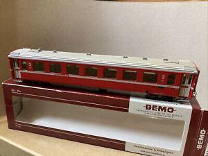 Bemo H0m Rhb 3240 169 Coach Carriage
