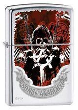 Zippo 4793 Sons of Anarchy High Polish Chrome Lighter