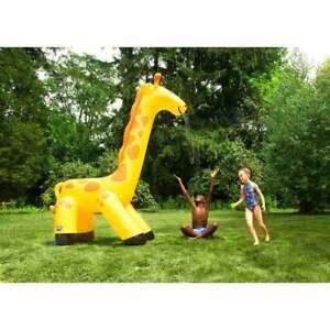 Giant Giraffe Garden Sprinkler