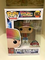 MARTY MCFLY IN FUTURE OUTFIT EXCLUSIVE FUNKO POP BACK TO THE FUTURE #962