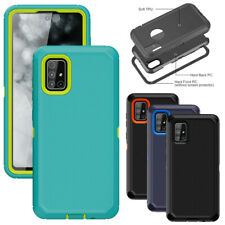 For Samsung Galaxy A51 A71 4G A10e A20 Case Shockproof Armor Rugged Phone Cover