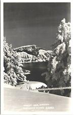Crater Lake Oregon OR Snow RPPC Eastman's Studio Real Photo Postcard - Unused