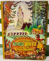 Walt Disney's Snow White and the Seven Dwarfs! Vintage 1938 UK Edition HB Book!