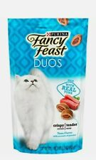 Purina Fancy Feast Duos Tuna Flavor with Accents of Parsley Cat Treats 2.1oz