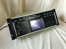 Roland V-Synth XT Synthesizer Version 2 VC-1 VC-2 D-50 w/ 2GB CF CARD