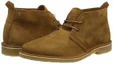 Jack & Jones Men's Jjgobi Suede Chukka Bison Brown Ankle Boots UK Size 12 BNIB