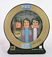 PEZ Elvis Presley Gift Pack Tin Limited Edition 3 Footed Dispensers 2007