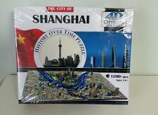 NEW - 4D Cityscape Time Puzzle - Shanghai, China - SEALED