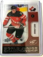2015-16 Upper Deck Ice World Juniors Championship Canada Jake Virtanen /1299