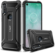 Motorola Moto One Action Hybrid Case Heavy Duty Shockproof Strong Rugged Cover