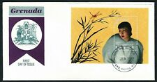 GRENADA, SCOTT # 2091, FDC COVER OF AMERICAN ACTRESS ANNA MAY WONG, 1992