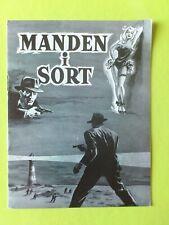 "Vintage Danish Film Program. ""The Dark Man"" Edward Underdown.Maxwell Reed."