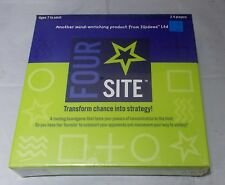 Four Site Board Game - Transforms Chance into Strategy new