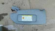 VOLVO V70 D5 MK2 00-07 PASSENGER/LEFT SIDE SUN VISOR WITH MIRROR