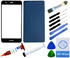Huawei P10 lite Display Glas Frontglas Ersatzglas Scheibe Screen - Schwarz