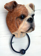 Bulldog Head Door Knocker  - Animal Design by Nemesis Now - Boxed NEW