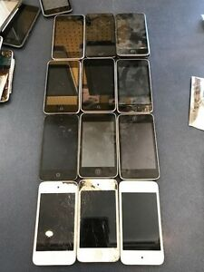 Various iPod Touch and parts