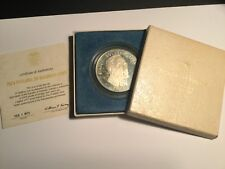 1973 PANAMA .925 SILVER * 20 Balboas In A Box With COA *Simon Bolivar 1783-1830