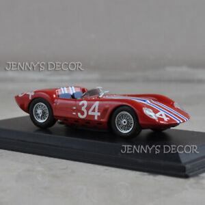 "LEO Model Toy 1:43 Vintage Racing Car Maserati Tipo 61 ""Drogo"" Reims 1963-Casner"