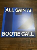"All Saints,bootie Call,original 1997 Vinyl 12"" Single,LONX 415,Unplayed!!!!"