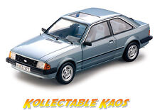 1 18 SUNSTAR - 1981 Ford ESCORT Mk3 GL Saloon - Arctic Blue