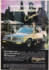 1981 CUTLASS CALAIS OUT ON THE TOWN PHOTO AD